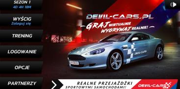 Gra Devil-Cars Racing - wygrywaj przejażdżki sportowymi samochodami!
