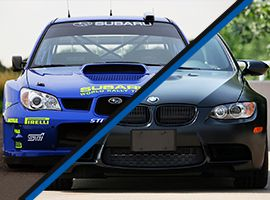 Subaru Impreza WRX vs. BMW BiTurbo Performance