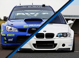 Subaru Impreza WRX vs. BMW M Power (E46)