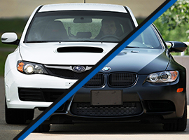 Subaru STI Turbo vs. BMW BiTurbo Performance